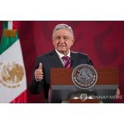 """코로나19 확산일로인데…멕시코 대통령 뉴멕시코주 """"지방방문 재개할 것"""" 뉴멕시코주"""