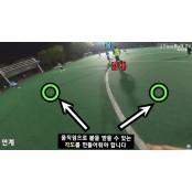"""[SNS 세상] """"프로축구 선수가 된 느낌""""…1인칭 시점 축구경기분석 경기영상 인기"""