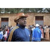 퇴임 앞 아프리카 부룬디 대통령 아프리카 돌연사