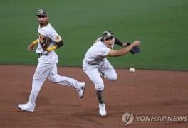김하성, 두 차례 '명품