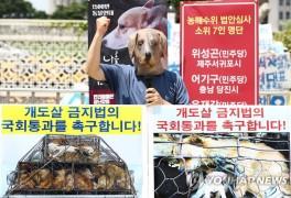 '개도살 금지법 국회통