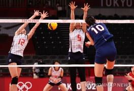 [올림픽] 김연경, 최초로 올림픽서 4차례 한 경기 30득점 이상