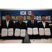 하동군, 북미시장 농특산물 마케팅