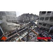 인도 콜카타서 신축 뉴델라 고가도로 붕괴로 최소 뉴델라 21명 숨져
