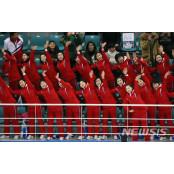 북한응원단, 여자아이스하키 일본전에서 일본체육복 응원 변화 줄까 일본체육복