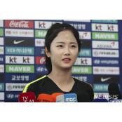 """여자축구 이민아 """"일본, 해볼만해요""""···유일한 지일파 일본여자보지"""
