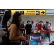 伊 국경 개방 다빈치 첫날 로마 국제공항 다빈치 이용객 많지 않아 다빈치
