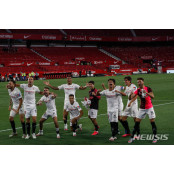 스페인 라리가 재개, 세비야 2-0 세비야FC 승리