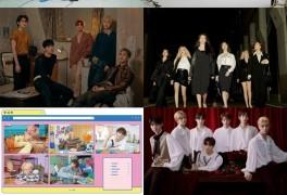 방탄소년단·세븐틴 '빅히트레이블즈', '2020 앨범차트' 판매량 37%