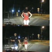 [영상]속옷만 입고 음주운전 팬티녀 하다 걸린 '팬티녀'의 팬티녀 최후