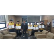 마사회 인천중구지사, 경마 건전화 캠페인 한국마사회pa 청년인턴 5명 수료식 개최