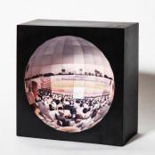 지구 안에서 구경하는 듯한 야구장 야구갤러리 풍경