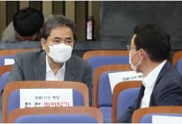 """곽상도 """"이재명 딱해…아들 화천대유에서 월급 250만원 받아"""""""