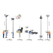 이스온, 승·하강식 감시시스템…사다리차 파워사다리 없이 작업