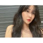 소녀시대 유리, 흑발+레드립으로 완성한 섹시美