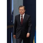 """""""文 대통령 임기 PK-35 끝까지 지지"""" 35%→41% PK-35 증가"""