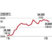 강원랜드·네오위즈게임즈·LG유플러스…반격 나선 소외株