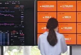 비트코인 3000만원대로 내려가나…국내가격 5% 하락