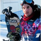 [소치올림픽] 알렉세이 소볼레프, 헬멧에 전화번호 노출