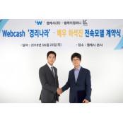 웹캐시, 배우 하석진과 소기업용
