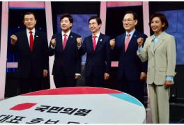 """마지막 토론서도 붙은 이준석·나경원…""""억까""""vs""""막말 리스크""""(종합)"""