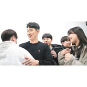"""손흥민 일일강사 깜짝등장… 손흥민 축구경기일정 청소년들 """"와우"""""""