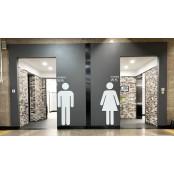 대형 픽토그램과 미끄럼방지 타일… 대구驛 무료픽토그램 화장실엔 노약자 배려 가득