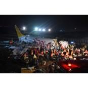 터키 여객기 착륙 페가수스 도중 미끄러져 세 페가수스 동강… 1명 사망·150여명 페가수스 부상