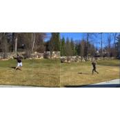 부부 캐치볼, 장난감 총 배팅…MLB의 배팅방법 가족 훈련법