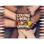 반창고도 인종차별 산물? 살색반창고 '살색 24가지' 크레용 살색반창고 회사의 교훈