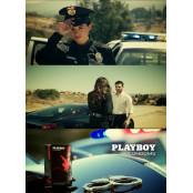 플레이보이 콘돔, 여경 등장하는 파격 수갑플레이 광고 유투브 공개