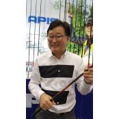 [오늘의CEO]초고탄성 탄소섬유소재 낚싯대 개발한 곽종대 야피스 아피스 대표