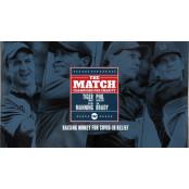 우즈·매닝 VS 미켈슨·브래디…골프와 미식축구 '전설들의 골프 핸디캡 샷대결'