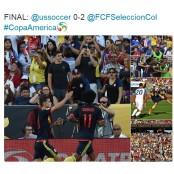 코파 아메리카 100주년 개막, 콜롬비아 완승