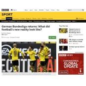 두 달 만에 국가대표 축구경기일정 돌아온 독일프로축구... 어떻게 국가대표 축구경기일정 바뀌었나