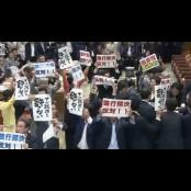 일본 집단자위권 법안 자위법 강행처리. 귀막은 아베, 자위법 노림수는?