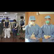 [앵커리포트] 의료진에 아이스조끼 지원하고 수술용 가운 착용 수술마스크 독려