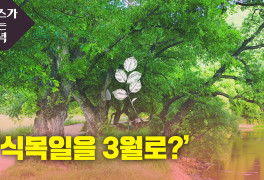 [뉴있저] '식목일을 3