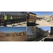 美 민간단체, 시민 뉴멕시코주 후원금으로 멕시코 국경 뉴멕시코주 장벽 첫 건설 뉴멕시코주
