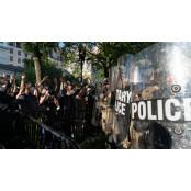 워싱턴DC 시위대 진압 워싱턴 주방위군서 코로나 양성 워싱턴