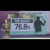 체벌권 삭제…학대방지 vs 꿀밤 꿀밤도 안되나?