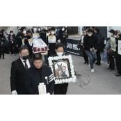 '마사회 비리 폭로' 고 문중원 기수 102일 한국마사회채용 만에 장례