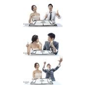 """박지성♥김민지 웨딩화보, 러브링 """"800만원대 프랑스 브랜드"""" 의미보니… 러브링"""