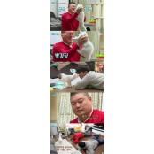 강호동 서인국 고양이 똥꼬에 차별당해 강호동 고양이 '폭소'