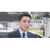 """'해외 원정 도박' 승리 경찰 출석…""""조사에 성실히 카지노원정 임하겠다"""""""