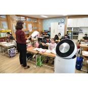LG, 공기청정기 1만여대 유트로핀 초중고에 기증