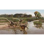 최후의 랩터…6800만년전 뉴멕시코 뉴멕시코주 일대 누빈 신종 뉴멕시코주 공룡 발견