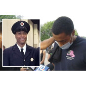 인종 앞에선 제복도 제복 소용없어…美경찰 차별에 흑인소방관 제복 울컥