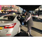 부산시 늑장 행정에 '자체 방역' 소독용에탄올구입 나선 택시 기사들