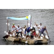 LATVIA MILK CARTON BOAT REGATTA